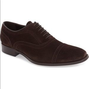 To Boot New York 'David' Suede Cap Toe Oxfords